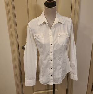 Anne Klein Button Down Shirt